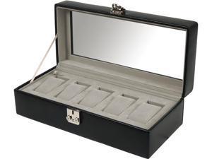 Wolf Designs 5 PC Watch Storage Box