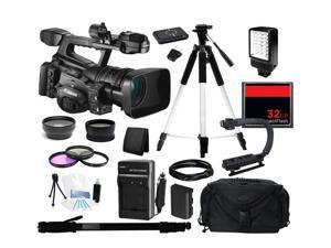 Canon XF305 High Definition Professional Camcorder, Everything You Need Kit, 4454B001
