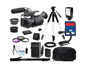 Sony HXR-NX70 NXCAM Full HD Professional Camcorder with 96GB Flash Memory, Everything You Need Kit, HXR-NX70U
