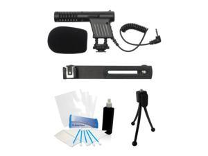 Camcorder Video Cam Mini Microphone for Canon Vixia HF G30 G20 G10 S10 S11 S21 HFG30 HFG20 HFG10 HFS10 HFS11 HFS21 HF S100 HFS100 R30 R32 R300 M40 M42 M400 HFR30 HFR32 HFR300 HFM40 M32 M300 HFM30 HFM3