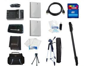 Essential Accessories Kit For Canon PowerShot D1300 IS, SD3500 IS, SD4000 IS