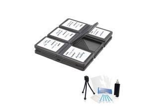 12 Piece Foldable SD/Micro Memory Card Case For Canon Power Shot ELPH 320 A4000