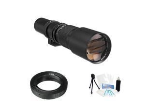 High Resolution Telephoto Lens 500mm F8.0 for Canon 500D 550D 600D 650D 60Da 70D