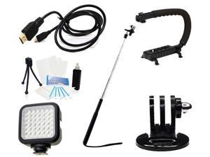 GoPro Ultimate Accessory Kit for GoPro HERO3 (Silver Edition)