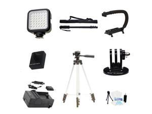 Battery and Charger Advanced Accessories Mount Kit GoPro HERO3+ (Silver Edition)