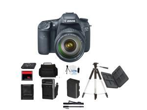 Canon EOS 7D DSLR Camera w/ 18-55mm Mothers Day Gift Bundle + Bonus items