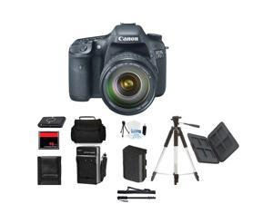 Canon EOS 7D DSLR Camera w/ 18-55mm Body Mothers Day Gift Bundle + Bonus items