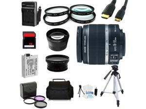 Advanced Shooters Kit for the Canon T3i includes:EF-S 18-55mm IS II + more