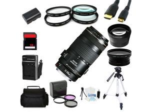 Advanced Shooters Kit for the Canon 7D includes: EF 70-300mm IS USM + MORE ...
