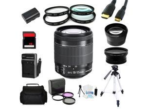 Advanced Shooters Kit for the Canon 7D includes: EF-S 18-55mm STM + MORE ...