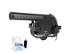 Condenser Video Mic for Canon PowerShot S120 S110 SX60 SX50 SX530 Point & Shoots