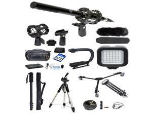 Professional Filmmaker's Kit for Canon T6i T6s DSLR Cameras