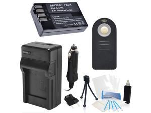 D-LI109 Replacement Battery Kit with Charger and Universal Remote Control