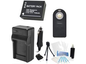 CGA-S007 Replacement Battery Kit with Charger and Universal Remote Control