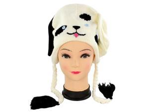 Faddism Adorable Fun Beanie in Dog Design.