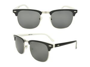 MLC Eyewear Trendy Soho, clubmaster, Club Master Fashion Sunglasses, White