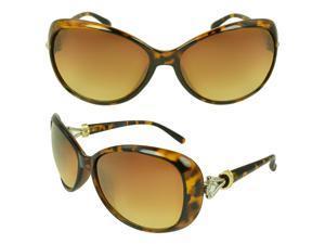 MLC  Eyewear 'Selma' Oval Fashion Sunglasses in Brown loepard