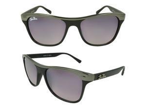 JOLIE ROSE 'Fiona' Shield Fashion Sunglasses in Black
