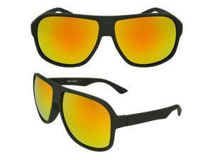 MLC  Eyewear 'Harrington' Shield Fashion Sunglasses in Black