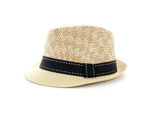 Faddism Fashion Fedora Hat in Beige