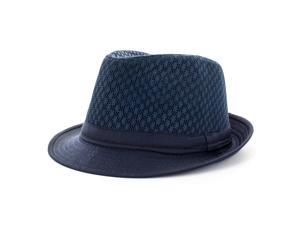Faddism Fashion Fedora Hat in Blue