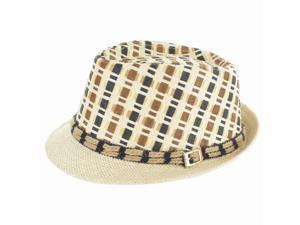Faddism Fashion Fedora Hat in Brown