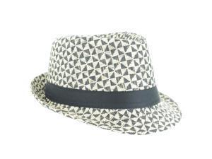 Faddism Fashion Fedora Hat in Black