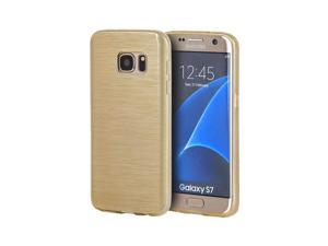 Samsung Galaxy S7 Crystal Skin Case Transparent Silk, Chgo Gold