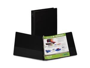 Samsill Corporation SAM11300 Round Ring Binder- 1in. Capacity- 11in.x8-.50in.- Black