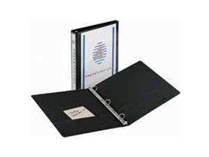 "Economy View Binder 8-1/2""x11"" 3"" Cap White"