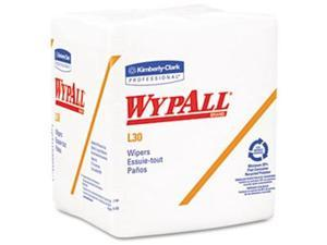 "Kimberly-Clark 05812PK - Wypall L30 Light Duty Wipers - 12.50"" Width x 12"" Length - 90pcs - White"