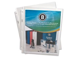 "Sheet Protectors Top Load 2.4 mil 11""x8-1/2"" 50/BX Clear"
