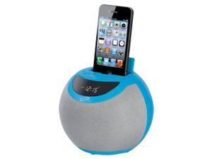 iLive Blue Clock Radio Dual Alarm For Iphone Ipod ICP102BU