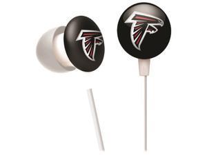 iHip NFF10200ATL NFL Atlanta Falcons Mini Ear Buds, Red/Black