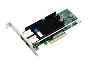 10gbe Dual Rj-45 Port Pcie X8 Nic Intel X540-t2 10 Gigabit