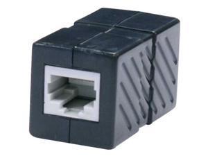 Steren 310-040BK Steren cat6 in-line coupler - black
