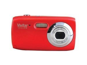 Vivitar V5118-RH 5.1 MP Digital Camera with 4x Optical Zoom - Red