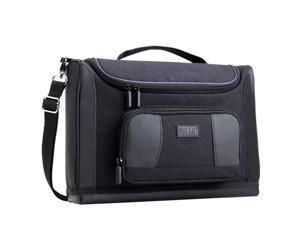 USA GEAR Portable Messenger Tablet Carrying Bag- Works with Samsung Galaxy Tab 3, Microsoft Surface 2, Google Nexus 7, Lenovo IdeaPad Yoga 11S, ASUS Transformer Pad TF300 & More + Bonus Cleaning Kit