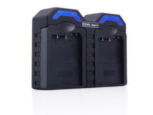 ReVIVE Series AC / DC Dual CB-5L , CB5L Camera Battery Charger w/ Interchangeable Charging Plates for Canon BP-511, BP511, BP-511a, BP511a - Works for MV Series, ZR Series, Optura Series & More