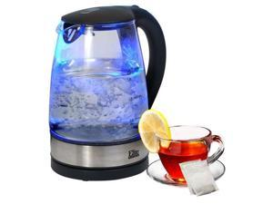 MAXI-MATIC  EKT200  Glass  Elite Platinum 1.7L Glass Cordless Electric Kettle