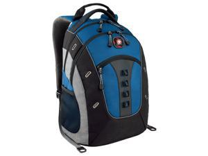 "SwissGear Blue/Black Granite 16"" / 41cm Deluxe Computer Backpack with Tablet/eReader Pocket Model 28056090"