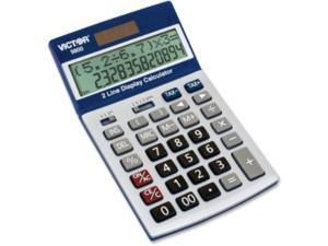 9800 2-Line Easy Check Display Calculator 12-Digit LCD
