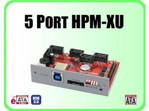 Addonics AD5HPMREU USB 3.0 HPM-XU 5-port Serial ATA Controller