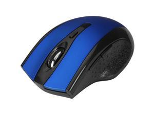 SIIG JK-WR0B12-S1 Blue 6 Buttons 1 x Wheel USB RF Wireless Optical Ergonomic Mouse