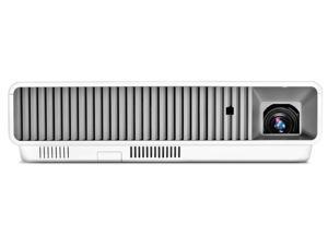 Signature XJ-M151 3D Ready DLP Projector - 720p - HDTV - 4:3 NTSC, PAL, SECAM - 1024 x 768 - XGA - 1,800:1 - 3000 lm - HDMI - VGA In - 180 W - White, Light Gray Color - 3 Year Warranty XJ-M151