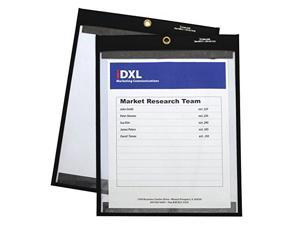 C-Line 85912 - Magnetic Stitched Shop Ticket Holders, Clear, 12 x 9, 25/Box