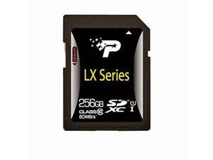 Patriot LX Series 256GB Secure Digital Extended Capacity (SDXC) Flash Card Model PSF256GSDXC10