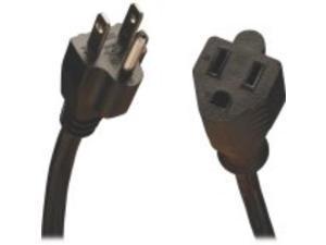 Tripp Lite Standard Power Extension Cord, 10A, 18AWG (NEMA 5-15P to NEMA 5-15R), 10-ft
