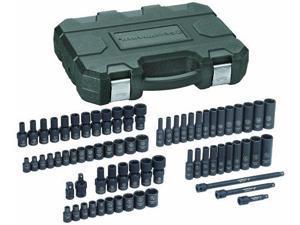 71 Pc. 1/4 Drive Impact Socket Set SAE/Metric