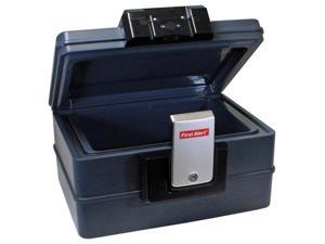 FIRST ALERT 2602DF Waterproof Fire Chest with Digital Lock (0.39 Cubic Ft)